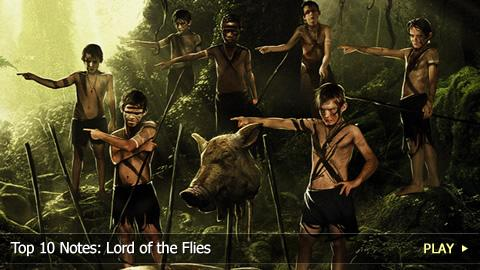 Top 10 Notes: Lord of the Flies