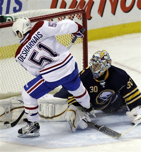 Habs score twice in shootout to beat Sabres 4-3