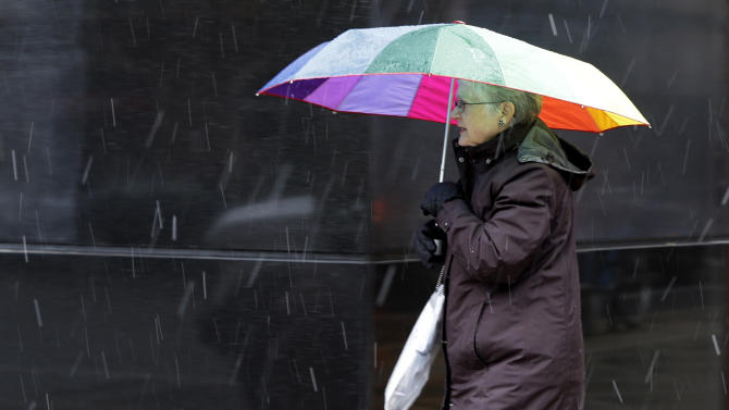 Nor'easter deals Pa. a glancing blow after Sandy