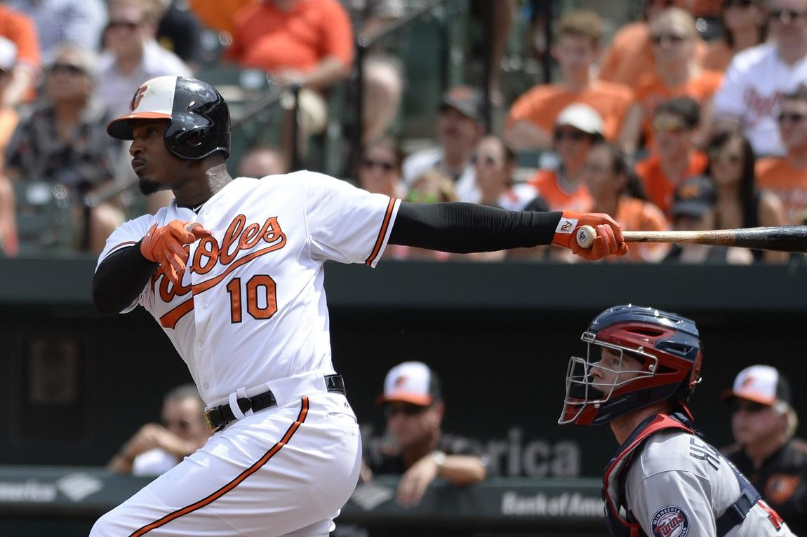 Cleared to play, Jones is back in Orioles lineup