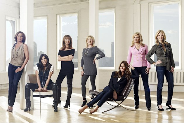 "The cast of ""The Real Housewives of New York City."""