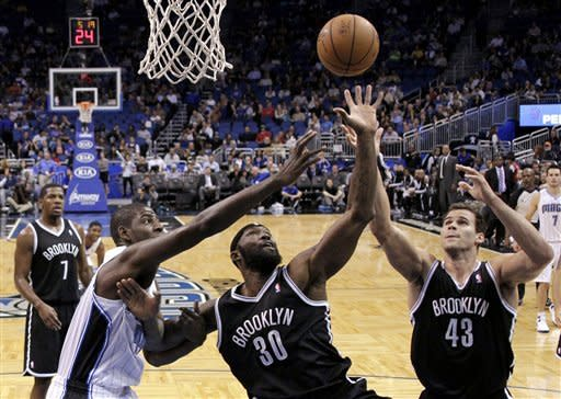 Nets topple Magic 98-86