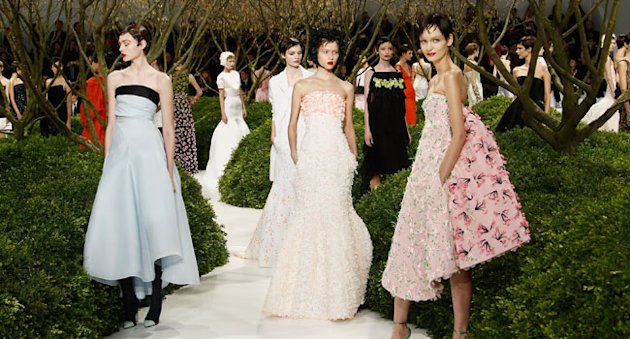 Paris Haute Couture Fashion Week: Susannah Frankel&amp;#39;s Report On Dior&amp;#39;s Spring 2013 Show