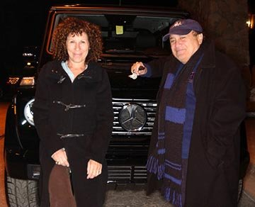 Rhea Perlman and Danny DeVito