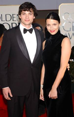 Tom Welling and wife Jamie -- Getty Images