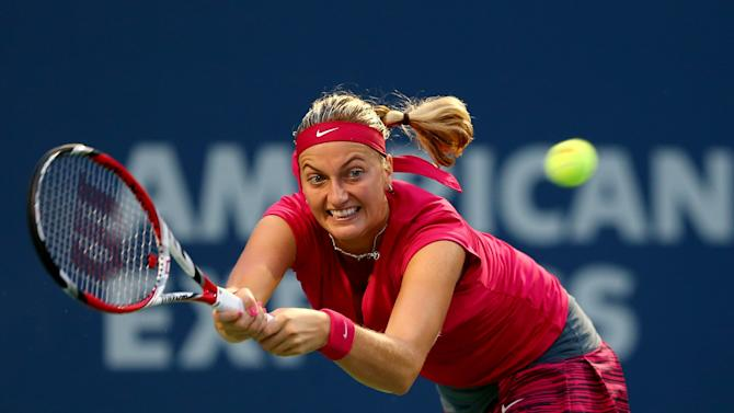 Tennis - Kvitova joins Rybarikova in WTA New Haven final