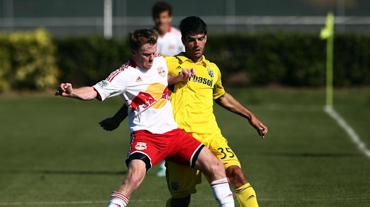 MLS: Preseason-Columbus Crew vs New York Red Bulls
