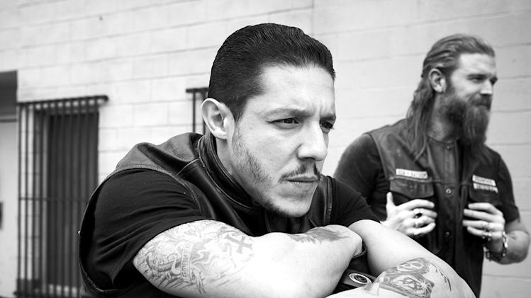 "Theo Rossi stars as Juice Ortiz in ""Sons of Anarchy."""