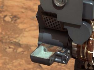 NASA's Curiosity Rover Eats 1st Mars Rock Sample
