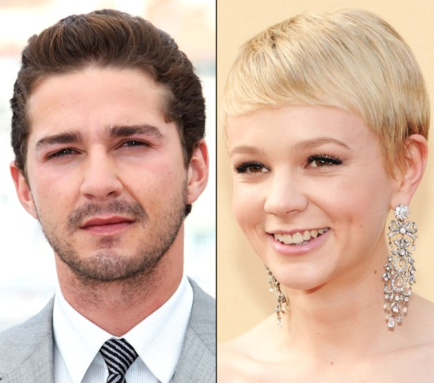 Shia La Beouf and Carey Mulligan
