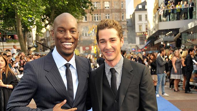 Transformers Revenge of the Fallen UK Premiere 2009 Tyrese Gibson Shia LaBeouf