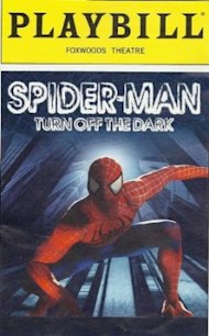 Spiderman Playbill