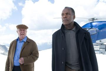 Ned Beatty and Danny Glover in Paramount Pictures' Shooter