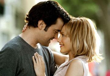 Ron Livingston and Brittany Murphy in Revolution Studio's Little Black Book