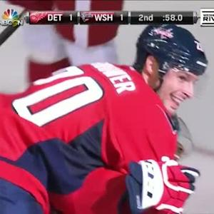 Troy Brouwer Goal on Jimmy Howard (19:02/2nd)