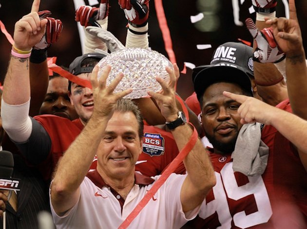 Alabama coach Nick Saban — Getty Images