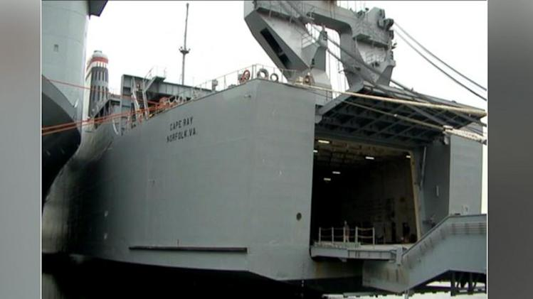 A Look at the Massive Ship That Will Destroy Syria's Chemical Weapons
