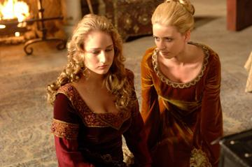 Leelee Sobieski and Eva Padberg in Freestyle Releasing's In the Name of the King: A Dungeon Siege Tale