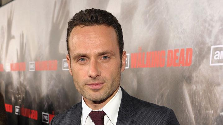 "Andrew Lincoln attends the Los Angeles premiere of ""The Walking Dead"" held at ArcLight Cinemas Cinerama Dome on October 26, 2010 in Hollywood, California."