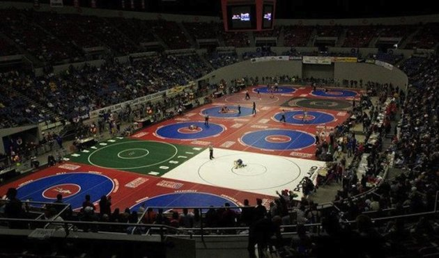 Oregon's high school athletics governing body has suspended 11 wrestlers for doctoring urine samples -- Doug Beghtel/The Oregonian