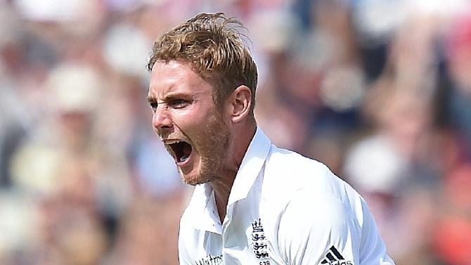 England paceman Stuart Broad (pictured) says he is proud of the way his side have restricted Australia captain Michael Clarke in the Ashes series so far but warned they cannot let the star batsman off the hook