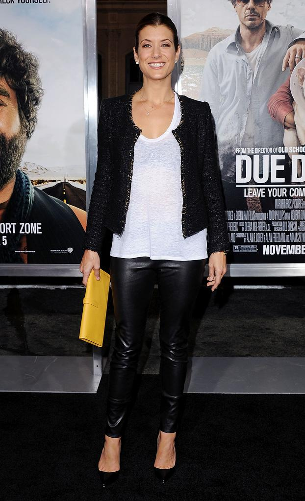 Due Date LA Premiere 2010 Kate Walsh