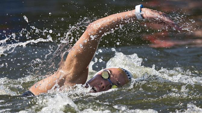 Polish swimmer has to be rescued unconscious