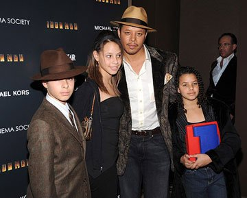 Terrence Howard at the New York City premiere of Paramount Pictures' Iron Man