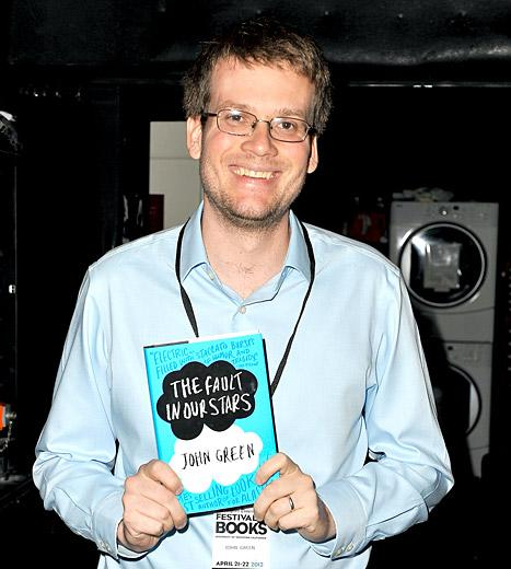 "Fault in Our Stars Book Author John Green Talks Movie Poster Tagline Backlash: ""I Did Not Write It, But I Like the Tag Line"""