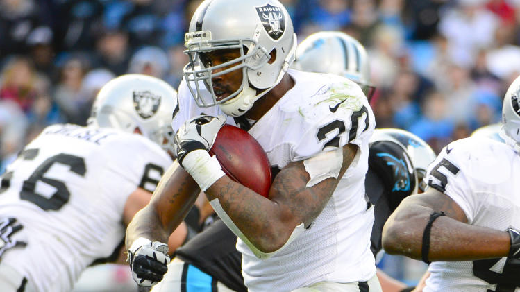 NFL: Oakland Raiders at Carolina Panthers