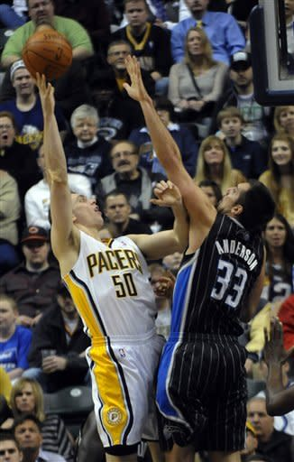 Howard scores 27, Magic beat Pacers 85-81