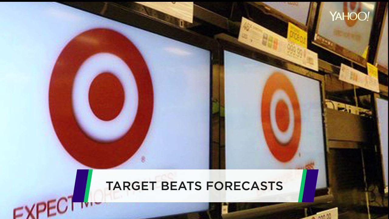 Target tops estimates; Lowe's builds up profits; Apple ordered to pay up