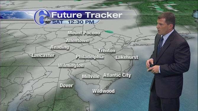 AccuWeather: Storms Likely Sunday