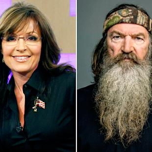 sarah palin defends duck dynasty s phil robertson free speech is an