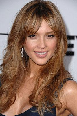 Jessica Alba at the Los Angeles premiere of Lionsgate Films' The Eye
