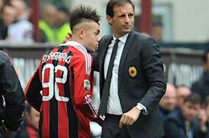 El Shaarawy back to his best, warns Allegri