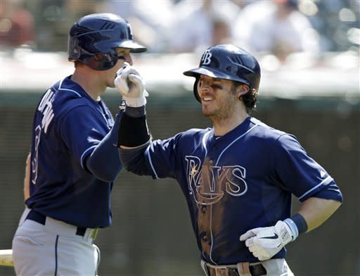 Rays rally for 3 in 9th, beat Indians 7-6