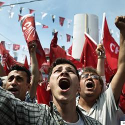 Off The Ballot But With Much At Stake, Turkey's President Fights For More Power