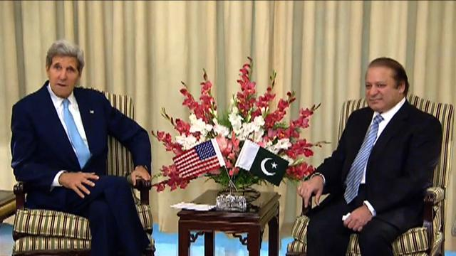 Kerry in Pakistan for high-level security talks