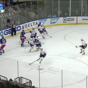 Pekka Rinne Save on Carl Hagelin (12:33/3rd)