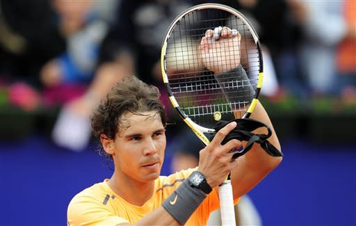 Nadal cruises into 3rd round at Barcelona Open