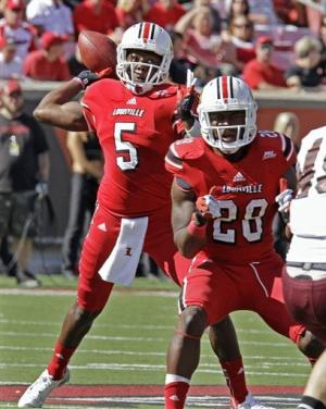 No. 23 Louisville rolls past Missouri State, 35-7