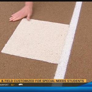 Track & Field customized for special needs students