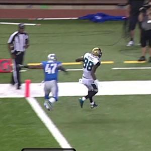 Jacksonville Jaguars wide receiver Allen Hurns 11-yard touchdown reception