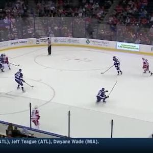 Ben Bishop Save on Danny DeKeyser (16:03/3rd)