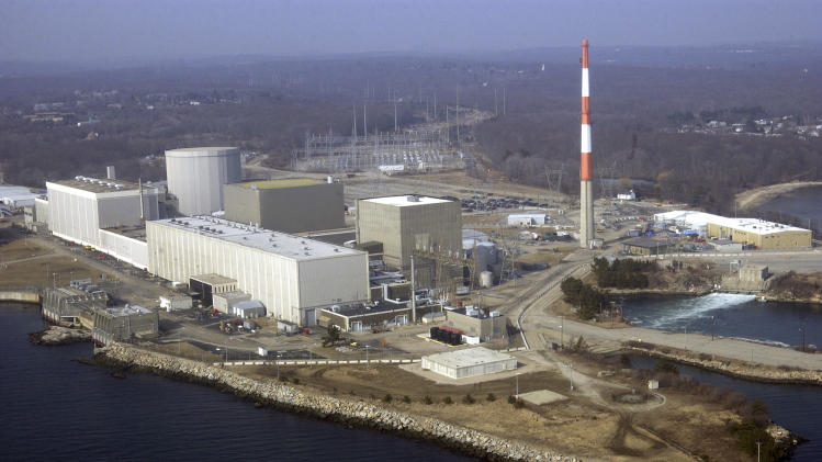 Warm seawater forces Conn. nuclear plant shutdown
