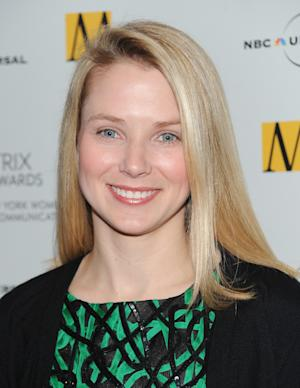 FILE- In this Monday, April 19, 2010 file photo, Google vice president of search products and user experience, Marissa Mayer, attends the 2010 Matrix Awards presented by the New York Women in Communications at the Waldorf-Astoria Hotel in New York. Yahoo announced Monday, July 16, 2012, that it is hiring longtime Google executive Marissa Mayer to be its next CEO, the fifth in five years as the company struggles to rebound from years of financial malaise and internal turmoil. Mayer, who starts at Yahoo Inc. on Tuesday, was one of Google's earliest employees and was most recently responsible for its mapping, local and location services. (AP Photo/Evan Agostini)