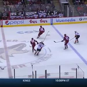 Frederik Andersen Save on Keith Yandle (13:14/1st)