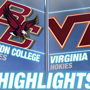 Boston College vs Virginia Tech - May 3 | 2015 ACC Baseball Highlights