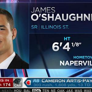 Kansas City Chiefs pick tight end James O'Shaughnessy No. 173 in 2015 NFL Draft